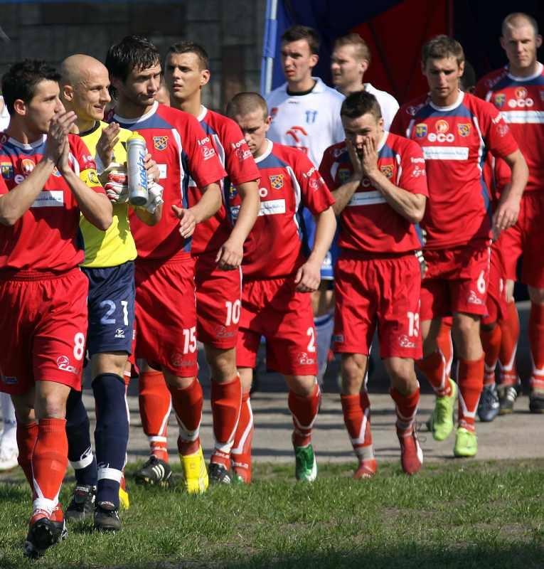 Większość piłkarzy na dobre pożegnało się z Opolem i kibicami.