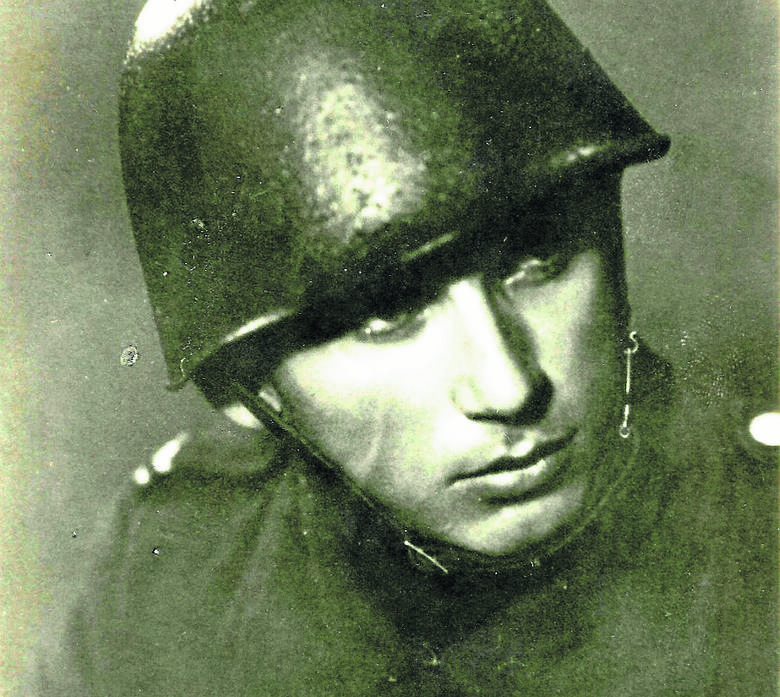 "Kapral podchorąży ""Grab"", 1941 - Tymbark<br />"