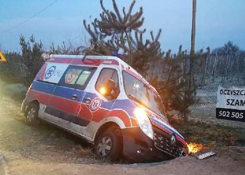Пьяный пациент в Польше угнал карету скорой помощи