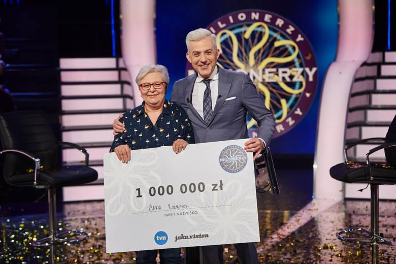 Maria Romanek wygrała w Milionerach. Emerytowana nauczycielka wygrała milion złotych. Kim jest zwyciężczyni