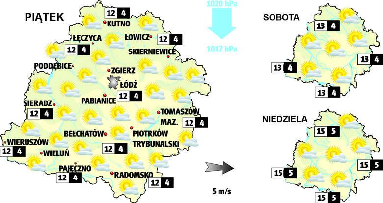Pogoda w Łodzi i regionie. Zobacz prognozę na piątek