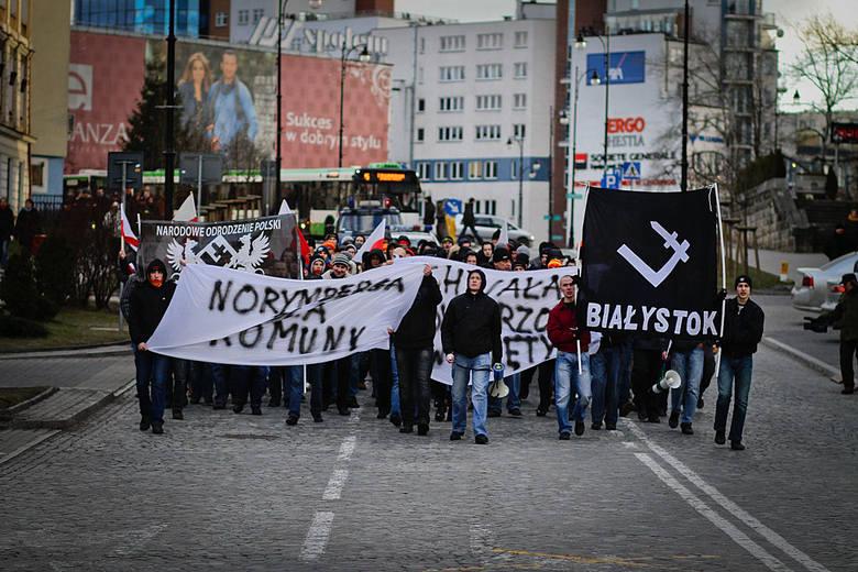 NOP - Dzielnica Podlaska zorganizowała Marsz Pamięci Żołnierzy Wyklętych (zdjęcia)