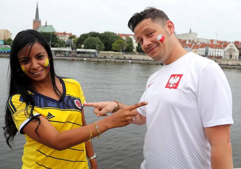 Sandra Paola Alvarez Marmolejo jest Kolumbijką, Bartek Bączkowski Polakiem. Od paru lat mieszkają w Szczecinie. Dzisiejszy mecz Polska - Kolumbia obejrzą