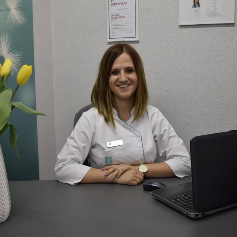 dietetyk kliniczny Anna Chrzanowska