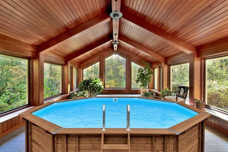 W kategorii Dom/Budownictwo/Nieruchomości uznanie i tytuł TOP Produkt Pomorskie 2020 zdobył Drewniany basen ogrodowy od firmy ABATEC.