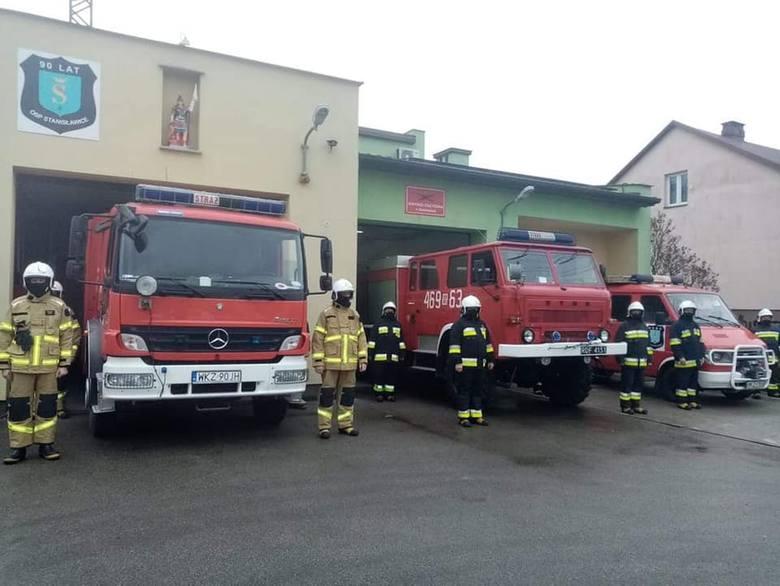 W sobotę 28 listopada Ochotnicza Straż Pożarna w Stanisławicach obchodziła jubileusz 90-lecia. Z tej okazji w jednostce odbyła się uroczysta zbiórka