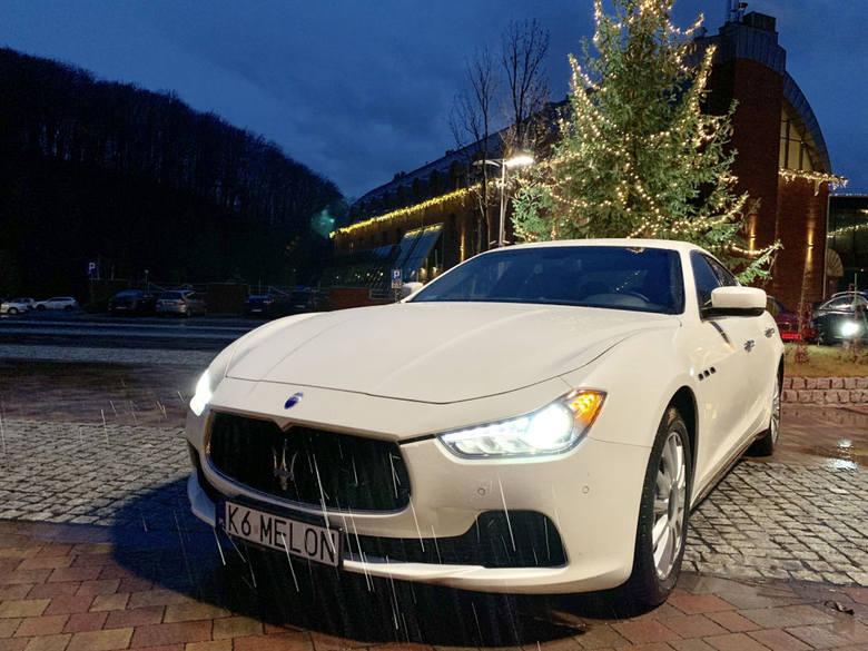 Wynajem dwudniowy wyjątkowego Maserati Ghibli