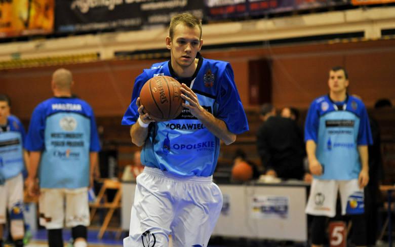 Tomasz Nowakowski zdobył najwięcej punktów dla prudnickiego zespołu.