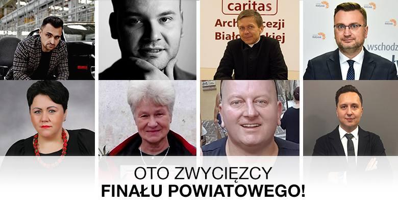 Oto zwycięzcy z powiatów, którzy głosami naszych Czytelników awansowali do wielkiego finału plebiscytu! Głosowanie w finale wojewódzkim rozpoczynamy
