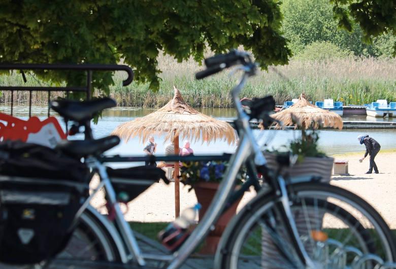 Ostatni weekend maja nad Jeziorem Rudnickim Wielkim w Grudziądzu [zdjęcia]