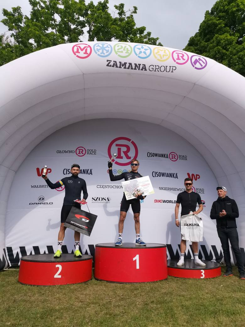Trzy puchary dla SkierVelo podczas Głowno Gold Race