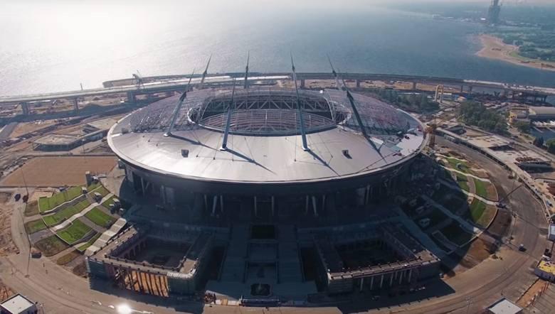 Stadiony MŚ 2018 w Rosji