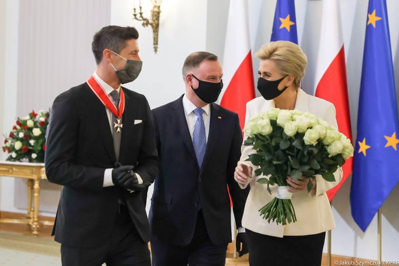 Para prezydencka i Robert Lewandowski