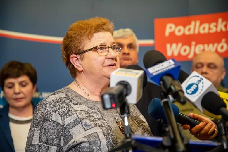Elżbieta Kraszewska jest szefową białostockiego sanepidu. I jest coraz poważniej krytykowana. Również za to, że Białystok był ostatnim miastem wojewódzkim