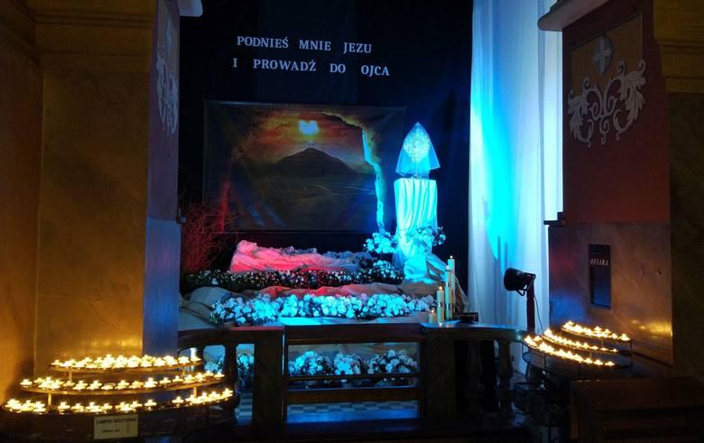 Groby Pańskie w łódzkich kościołach