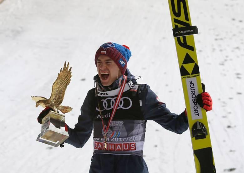 Kamil Stoch drugi raz z rzędu wygrał TCS