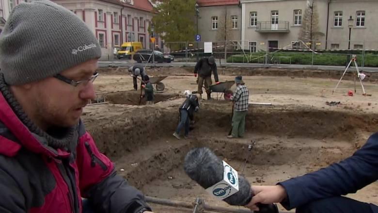 Skarb w Poznaniu! Co znaleziono w samym centrum miasta? [WIDEO]
