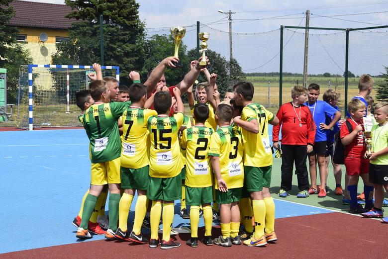 Niedzielny festyn rozpoczął się o godzinie 9. turniejem piłkarskim o Puchar Wójta gminy Przyłęk.