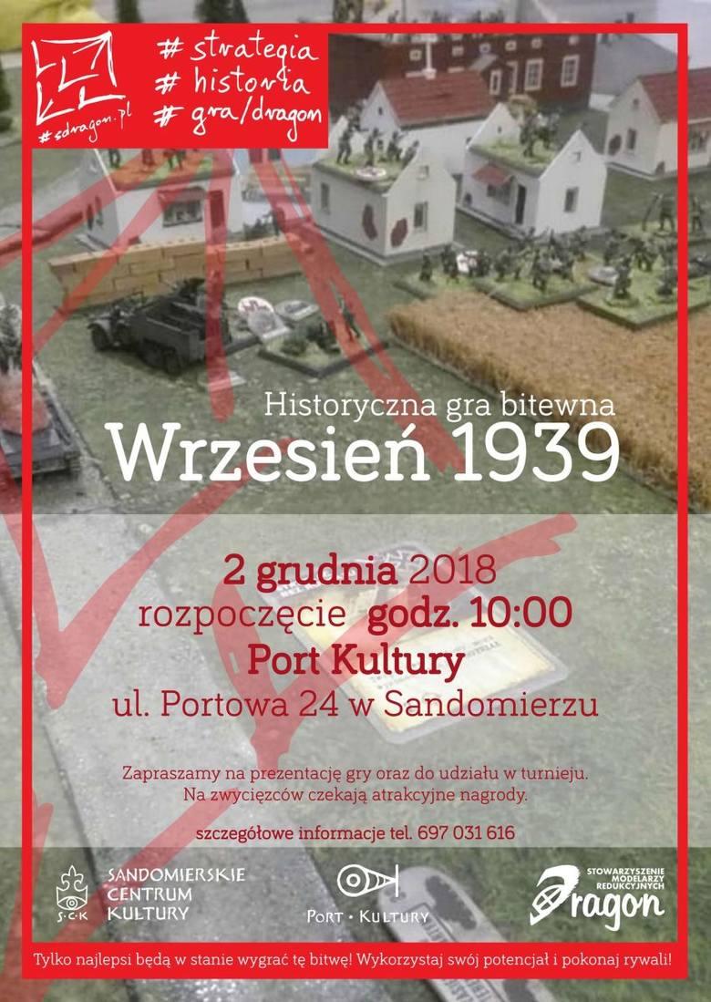Historyczna Gra Bitewna Wrzesień 1939 w Porcie Kultury w Sandomierzu
