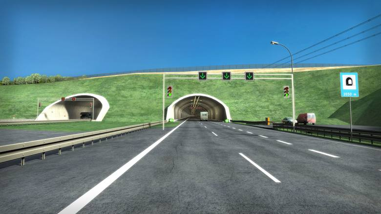 Odcinek Rzeszów - Babica będzie miał 10 kilometrów długości. Planuje się tu pięć estakad, dwa wiadukty, przejścia dla zwierząt i tunel. Droga będzie