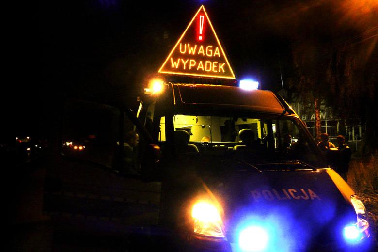 Policja zatrzymała sprawcę śmiertelnego wypadku pod Wieluniem