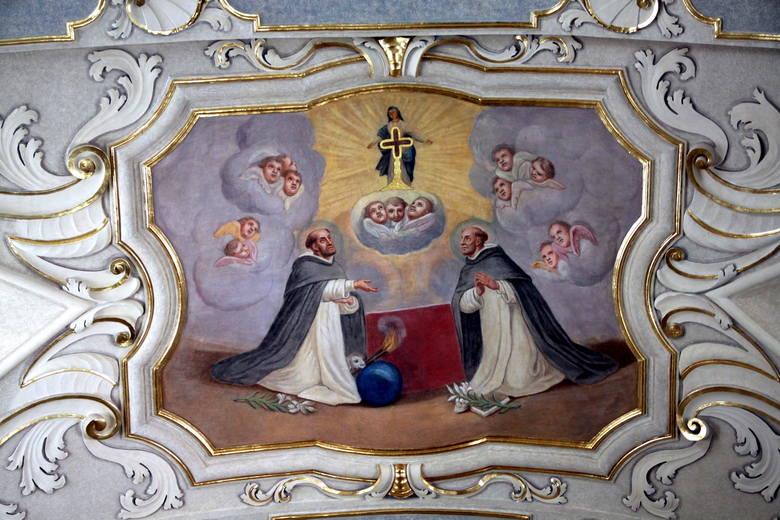 Sklepienie kaplicy Paryskiej.
