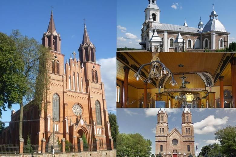W naszym regionie mnóstwo jest katolickich kościołów i sanktuariów. Cześć z nich ma bogatą historię i status zabytków. My postanowiliśmy Wam pokazać