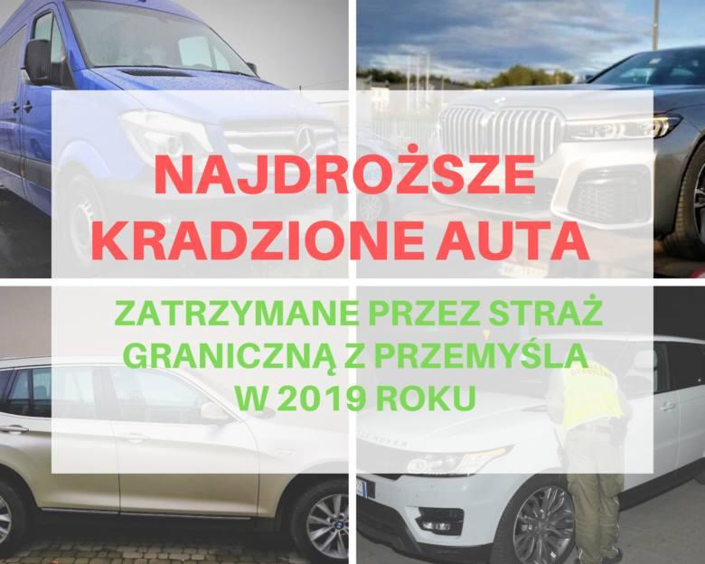 Funkcjonariusze Bieszczadzkiego Oddziału Straży Granicznej zatrzymali w tym roku już 109 kradzionych pojazdów. Ich łączna wartość przekroczyła 6 mln
