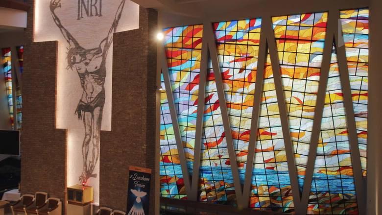 Tyski kościół świętych zdziwień. Anna Dudzińska: Dobrze zaprojektowane WIDEO