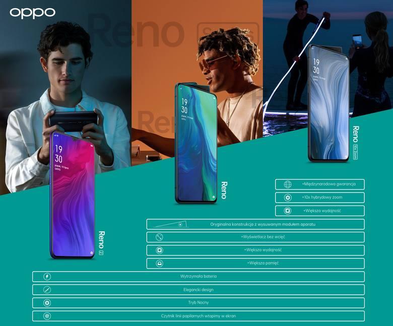 Nowy smartfon Oppo z serii Reno wchodzi na polski rynek. To model Reno Z