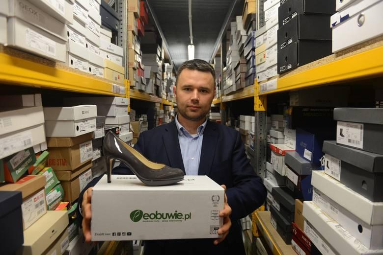 Marcin Grzymkowski, założyciel firmy eObuwie odniósł zwycięstwo aż w 2 z 3 kategorii
