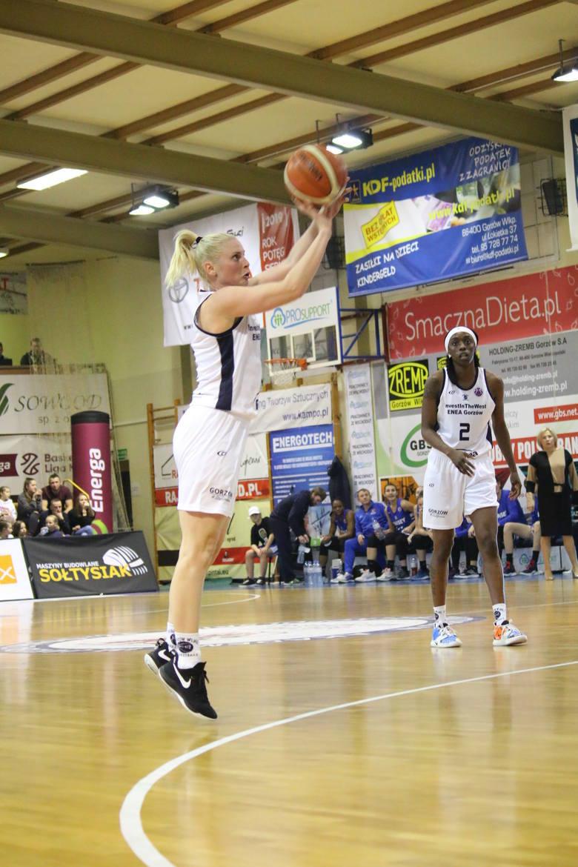 Koszykarka Katarzyna Dźwigalska rozegrała 500 mecz w klubie z Gorzowa