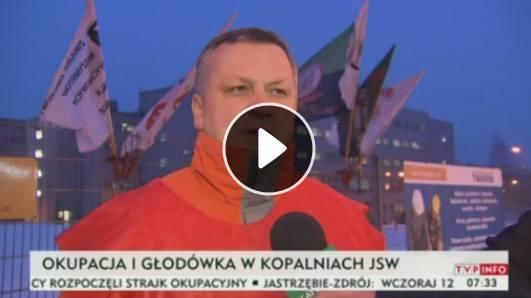 Strajk w kopalni Budryk: Wczoraj masówki, dziś strajk okupacyjny