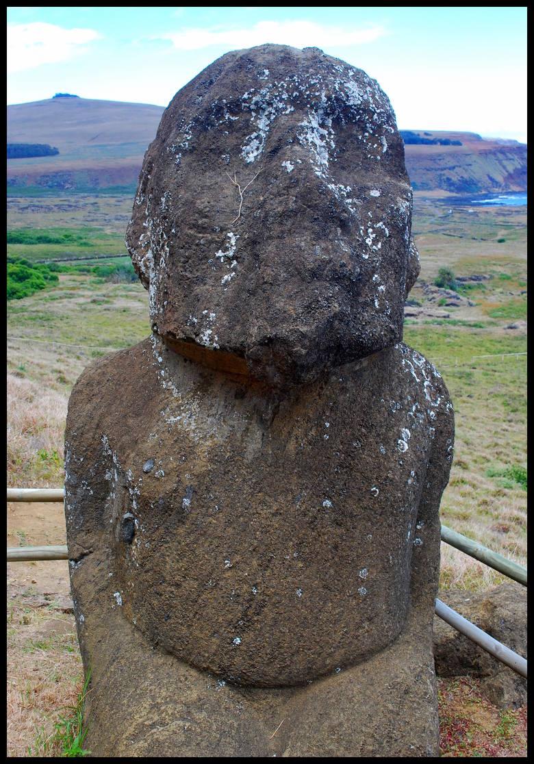 Jedyny posąg, o którym mówi się, że może przedstawiać kobietę