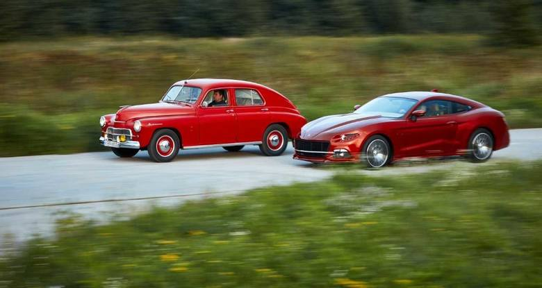 Warszawa M20 produkowana była w latach 1951-1973 na konstrukcji radzieckiego samochodu M20 Pobeda przez Fabrykę Samochodów Osobowych (FSO) w Warszaw