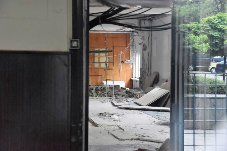 Budynek przy ul. Damrota 2a, który będzie zaadaptowany na potrzeby biura podróży ITAKA - stan obecny