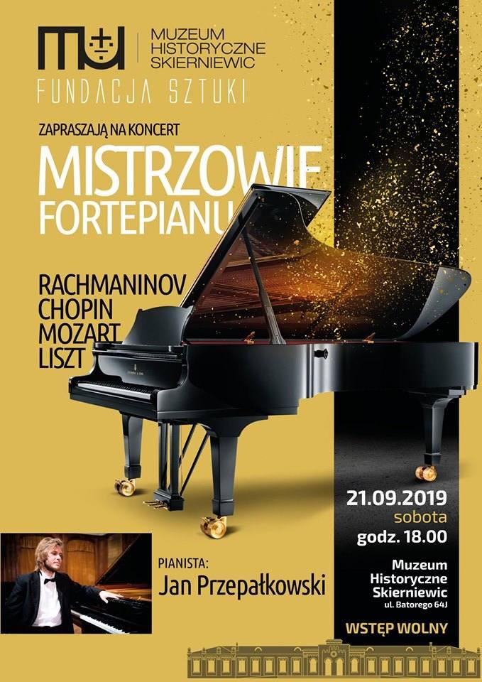 Jesień w mieście: Mistrzowie Fortepianu i dwa spektakle