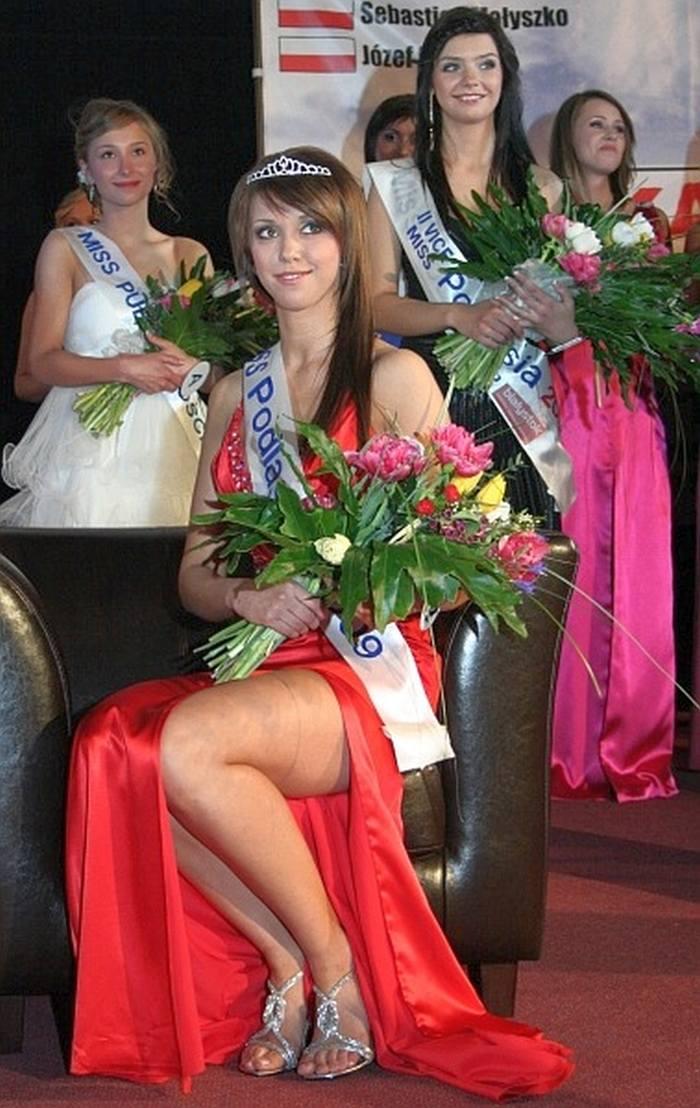Kamila Ryszkiewicz, obecnie Kucejko, zdobyła tytuł Miss Podlasia 2009.