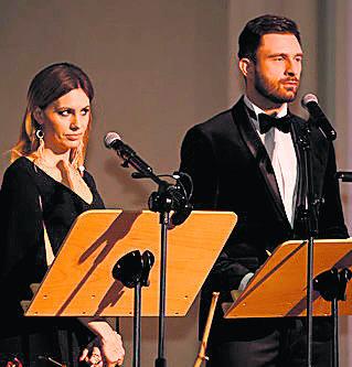 Znani z telewizji Agnieszka Hyży i Mateusz Hładki prowadzili naszą galę