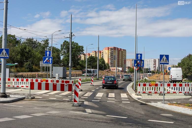 Ulica Szafera w Szczecinie.