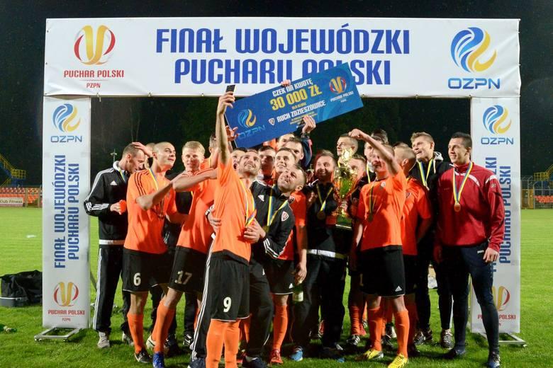 W finale wojewódzkiego Pucharu Polski piłkarze Ruchu Zdzieszowice pokonali 6-1 Gronowice.