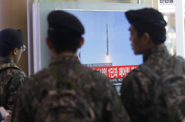 Korea Północna wystrzeliła rakietę dalekiego zasięgu