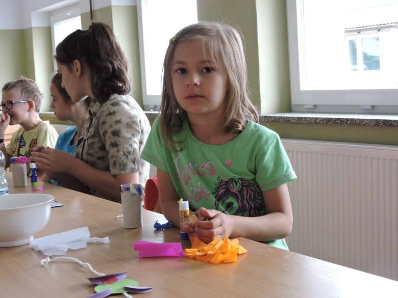 Wakacyjne zajęcia dla dzieci w Dylewie