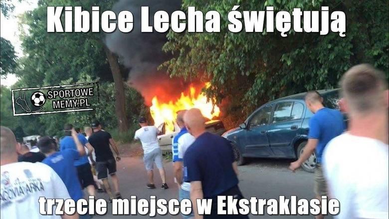 Lech - Legia: Memy po meczu. Internauci śmieją się z Kolejorza i jego kibiców! Kliknij i przejdź do kolejnych memów --->