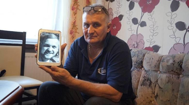 Zenon Hryć, ojciec zakatowanego