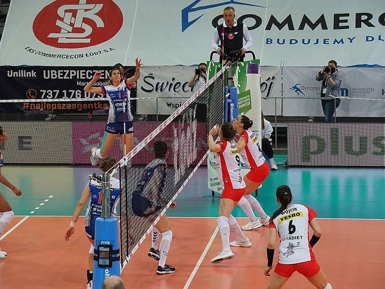 W drugim meczu o brązowy medal mistrzostw Polski siatkarek, ŁKS Commercecon Łódź przegrał 2:3 z E. Leclerc Moya Radomka Radom. Stan rywalizacji po dwóch