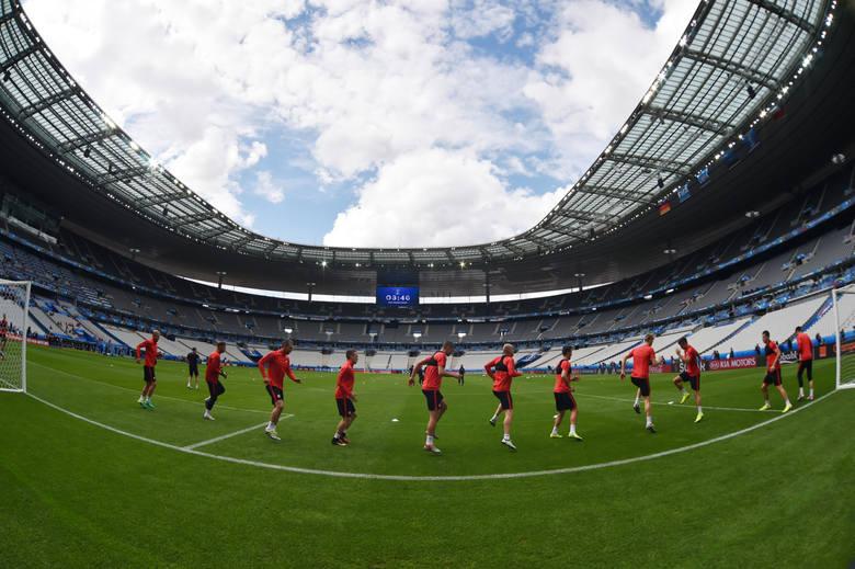 Trening reprezentacji Polski przed meczem z Niemcami