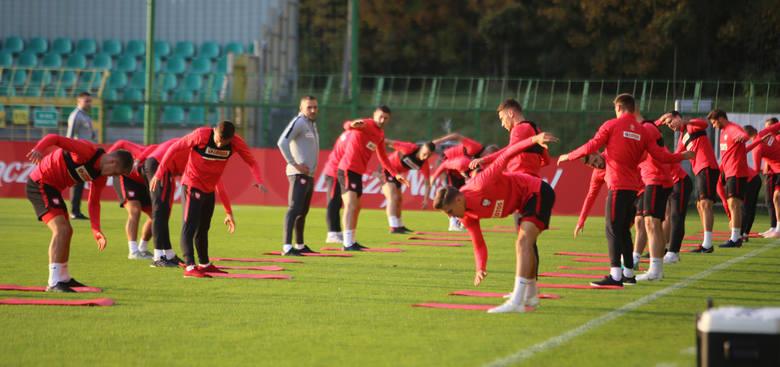 Trening reprezentacji na stadionie GKS Katowice
