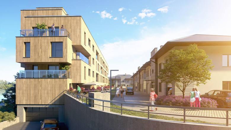Apartamentowiec będzie gotowy w przyszłym roku.