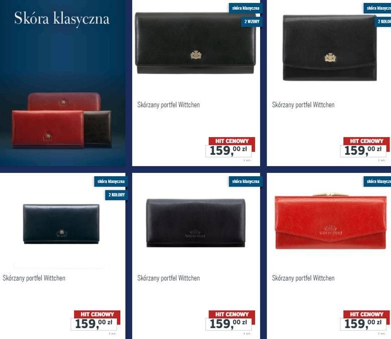 ffae7a0bd2620 Wittchen w Lidlu: torebki, portfele, rękawiczki i paski. Kolekcja Wittchen  w Lidlu już od 2 grudnia 2017 (2.12.2017) mat.